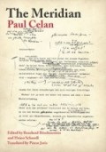 3-Paul Celan: The Meridian Final Version—Drafts—Materials