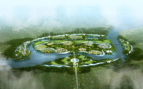 Fascinating Green Health City in Hainan with River And Forest